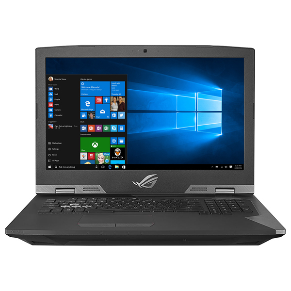 "Laptop Gaming ASUS ROG G703GI-E5046T, Intel Core i9-8950HK pana la 4.8GHz, 17.3"" Full HD, 32GB, SSHD 2TB + SSD 2 x 256GB, NVIDIA GeForce GTX 1080 8GB, Windows 10 Home"