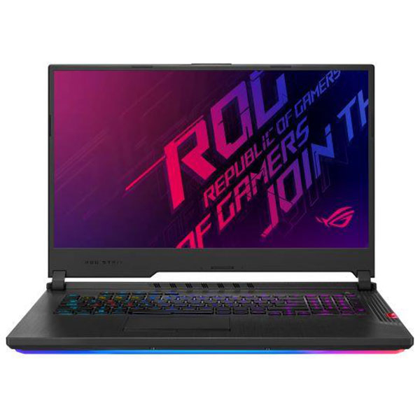 "Laptop Gaming ASUS ROG Strix Hero III G731GV-EV100, Intel Core i7-9750H pana la 4.5GHz, 17.3"" Full HD, 16GB, 512GB SSD, NVIDIA GeForce RTX 2060 6GB, Free Dos, Midnight Black"