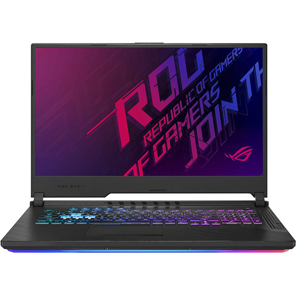 "Laptop Gaming ASUS ROG Strix G731GW-EV010, Intel Core i7-9750H pana la 4.5GHz, 17.3"" Full HD, 16GB, SSD 512GB, NVIDIA GeForce RTX 2070 8GB, Free Dos, Negru"