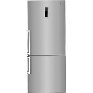 Combina frigorifica LG GBB548PZQZB, 445 l, 185 cm, A++, argintiu
