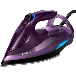 Fier de calcat PHILIPS Azur Advanced GC4934/30, 330ml, 230g/min, 3000W, talpa SteamGlide Plus, mov