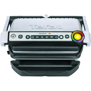 Gratar electric TEFAL OptiGrill+ GC702D16, 2000W, 6 programe automate, argintiu-negru