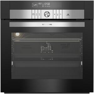 Cuptor incorporabil GRUNDIG GEBS46000BHP, Electric, Autocuratare pirolitica, 72 l, Clasa A, HomeWhiz, Wi-Fi, negru