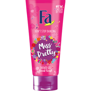 Gel de dus FA Teens  Miss Pretty, 200ml