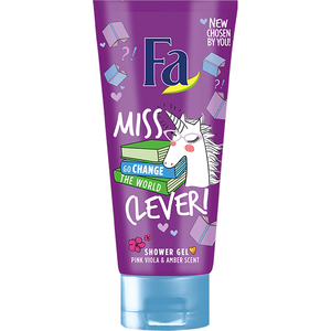 Gel de dus FA Teens Miss Clever, 200ml