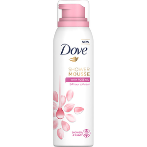 Spuma de dus DOVE Rose Oil, 200ml