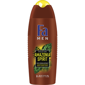Gel de dus FA Men Amazonia Spirits, 400ml