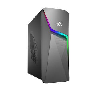 Sistem Desktop Gaming ASUS ROG Strix GL10CS-RO046D, Intel Core i7-9700K pana la 4.9GHz, 8GB, HDD 1TB + SSD 256GB, NVIDIA GeForce GTX 1660 Ti 6GB, Free Dos