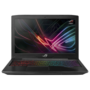 "Laptop Gaming ASUS ROG Strix GL503GE-EN035, Intel Core i7-8750H pana la 4.1GHz, 15.6"" Full HD, 8GB, SSHD 1TB, NVIDIA GeForce GTX 1050 Ti 4GB, Free Dos"