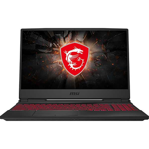 "Laptop Gaming MSI GL65 9SD-206XRO, Intel Core i7-9750H pana la 4.5GHz, 15.6"" Full HD, 8GB, SSD 512GB, NVIDIA GeForce GTX 1660Ti 6GB, Free Dos, negru"