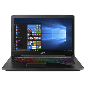 "Laptop Gaming ASUS ROG Strix GL703GE-GC007T, 17.3"" Full HD, Intel Core i7-8750H pana la 4.1GHz, 8GB, HDD 1TB + SSD 128GB, NVIDIA GeForce GTX 1050 Ti 4GB, Windows 10"
