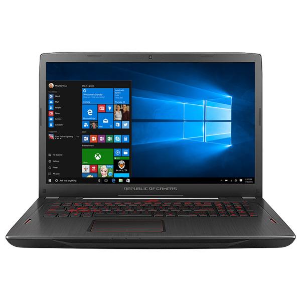 "Laptop Gaming ASUS ROG Strix GL702ZC-GC178T, AMD Ryzen™ 7 1700 1700 pana la 3.7GHz, 17.3"" Full HD, 8GB, 1TB Hybrid (FireCuda), AMD Radeon RX 580 4GB, Windows 10 Home"