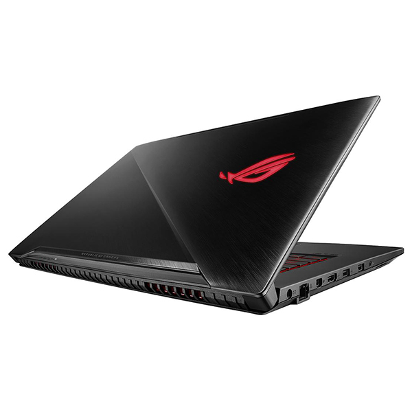 "Laptop Gaming ASUS ROG Strix GL703GE-GC007, 17.3"" Full HD, Intel Core i7-8750H pana la 4.1GHz, 8GB, HDD 1TB + SSD 128GB, NVIDIA GeForce GTX 1050 Ti 4GB, Free Dos"