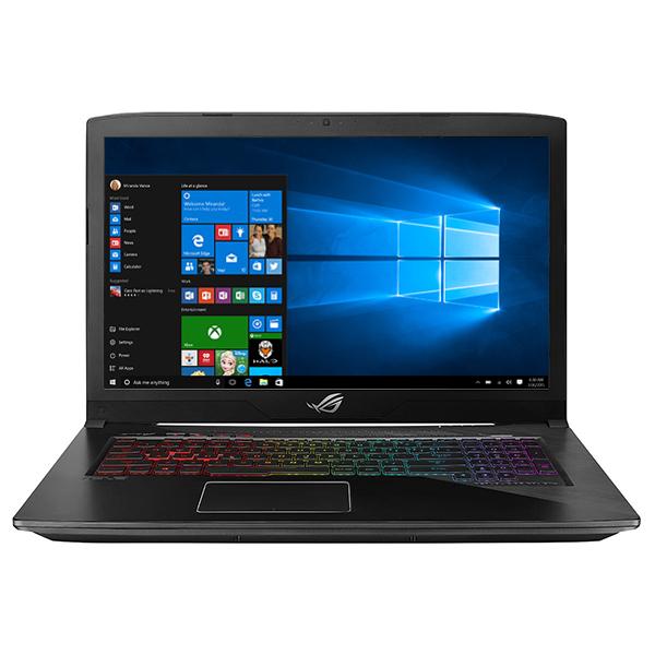 "Laptop Gaming ASUS ROG Strix Scar GL703GS-E5039R, 17.3"" Full HD, Intel Core i7-8750H pana la 4.1GHz, 32GB, SSHD 1TB + SSD 256GB, NVIDIA GeForce GTX 1070 8GB, Windows 10 Pro"