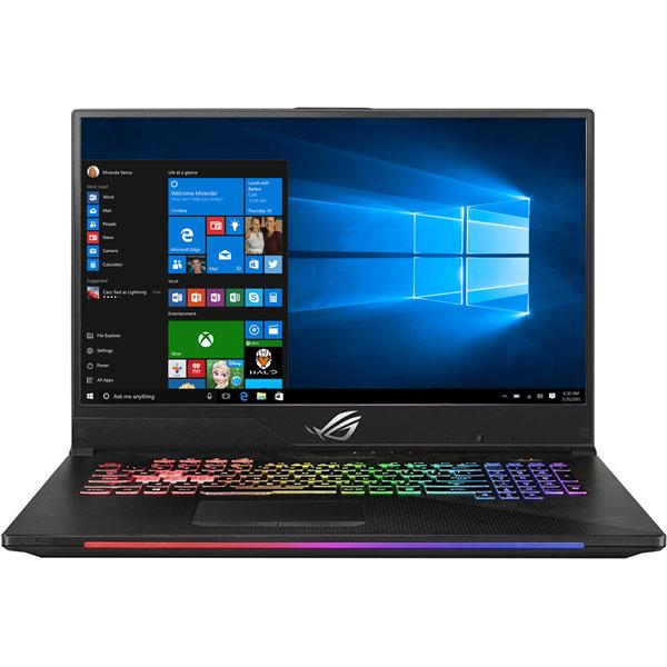 """Laptop Gaming ASUS ROG Strix Scar II GL704GW-EV018T, Intel Core i7-8750H pana la 4.1GHz, 17.3"""" Full HD, 32GB, SSHD 1TB + SSD 512GB, NVIDIA GeForce RTX 2070 8GB, Windows 10 Home, Gun Metal"""