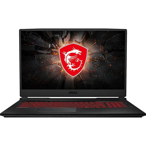 "Laptop Gaming MSI GL75 9SE-211XRO, Intel Core i7-9750H pana la 4.5GHz, 17.3"" Full HD, 16GB, SSD 512GB, NVIDIA GeForce RTX 2060 6GB, Free Dos, Negru"