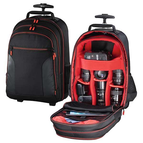 Troler camera foto HAMA 139854 Miami 200, negru-rosu