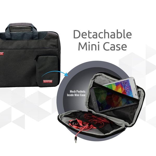 """Geanta laptop PROMATE Desire-L, 15.6"""", negru"""