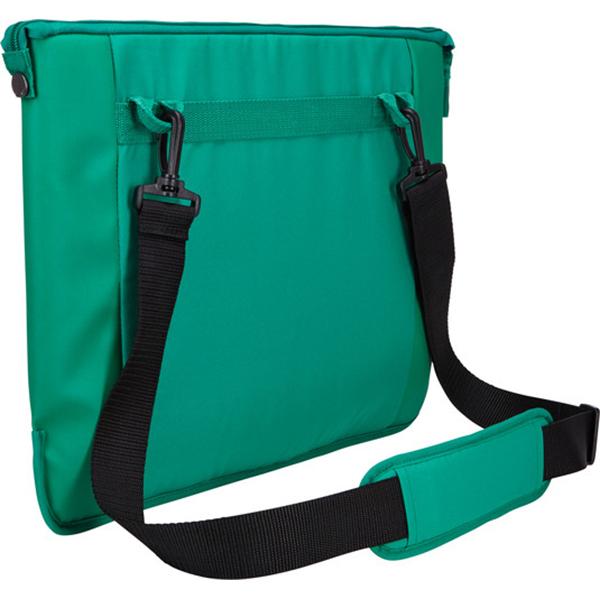 "Geanta laptop CASE LOGIC INT-115 PEPPER, 15.6"", Poliester, verde"
