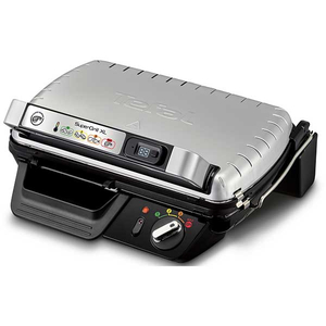 Gratar electric TEFAL Supergrill XL GC461B34, 2400W, inox