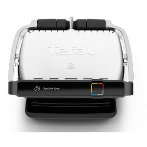 Gratar electric TEFAL OptiGrill Elite GC750D30, 12 programe automate, argintiu-negru