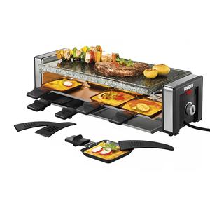 Gratar electric UNOLD Raclette U48765, 1100W, negru