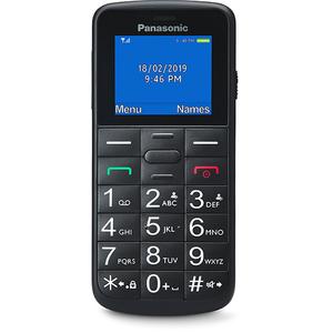 Telefon mobil PANASONIC KX-TU110EXV, 32MB RAM, 2G, Dual SIM, Black