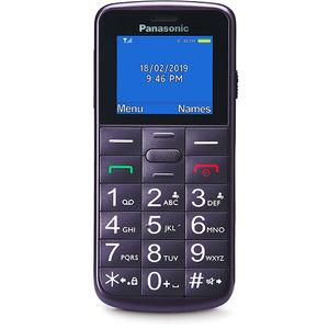 Telefon mobil PANASONIC KX-TU110EXV, 32MB RAM, 2G, Dual SIM, Violet