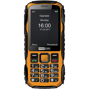 Telefon MAXCOM MM920, 2G, Single SIM, Yellow