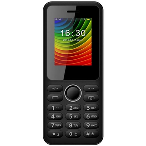 Telefon E-BODA Freeman T120, 32MB RAM, 2G, Dual SIM, Black