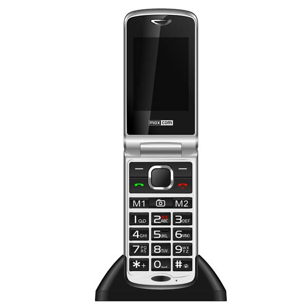 Telefon mobil MAXCOM Comfort MM831, 3G, Single SIM, Black