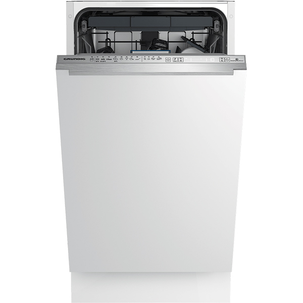 Masina de spalat vase incorporabila GRUNDIG GSV41821, 11 seturi, 8 programe, 45 cm, clasa A++, alb