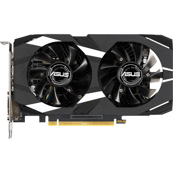 Placa video ASUS NVIDIA GeForce GTX 1650, 4GB GDDR5, 128bit, DUAL-GTX1650-O4G