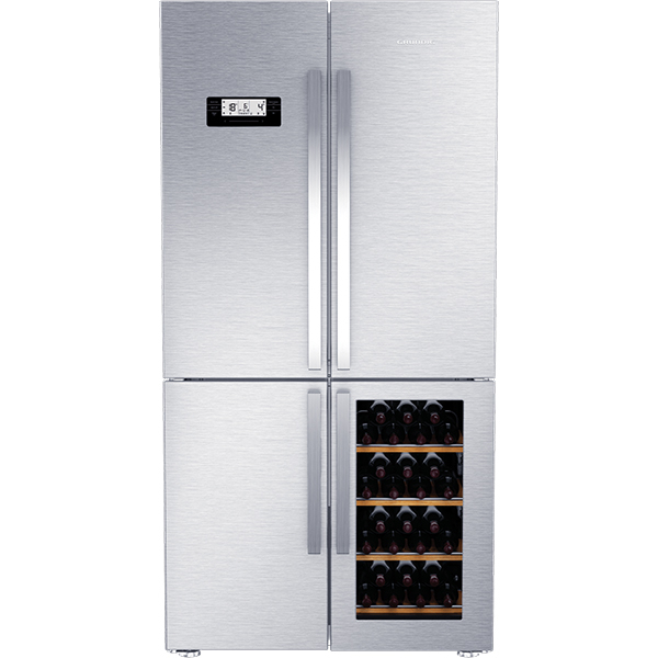 Side-by-Side No Frost GRUNDIG French Door GWN21210X, 519l, A+, inox