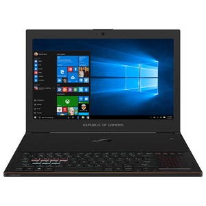 "Laptop ASUS ROG ZEPHYRUS GX501GI-EI006T, Intel® Core™ i7-8750H pana la 4.1GHz, 15.6"" Full HD, 24GB, SSD 512GB, NVIDIA GeForce GTX 1080 8GB, Windows 10"
