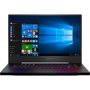 "Laptop ASUS ROG Zephyrus S GX502GW-ES094T, Intel Core i7-9750H pana la 4.5GHz, 15.6"" Full HD, 16GB, SSD 512GB, NVIDIA GeForce RTX 2070 8GB, Windows 10 Home, Negru"