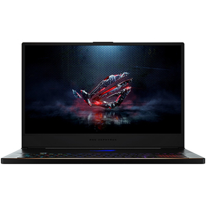 "Laptop Gaming ASUS ROG GX701GX-EV001T, Intel® Core™ i7-8750H pana la 3.9GHz, 17.3"" Full HD, 16GB, SSD 512GB, NVIDIA GeForce RTX 2080 Max-Q Design, Windows 10 Home, Negru"