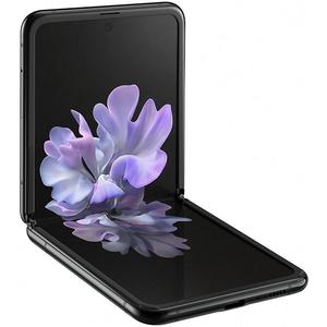 Telefon SAMSUNG Galaxy Z Flip, 256GB, 8GB RAM, Dual SIM, Mirror Black