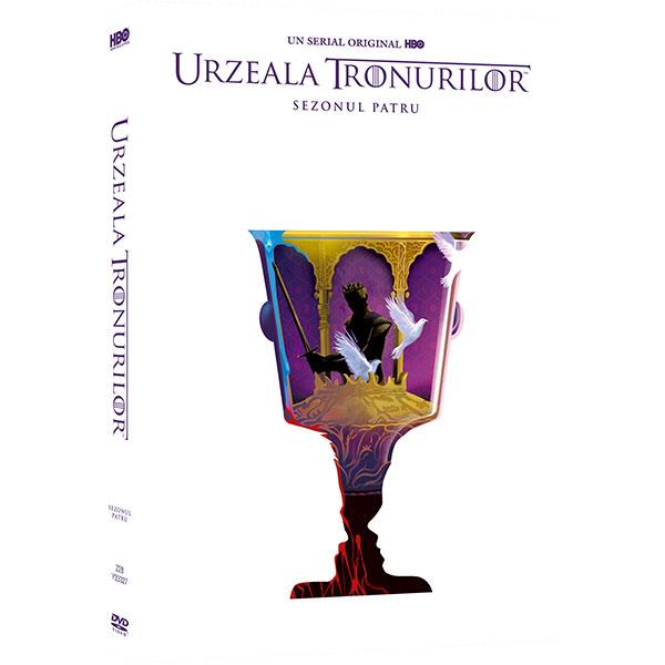 Urzeala Tronurilor - Sezonul 4 DVD Editie Iconica