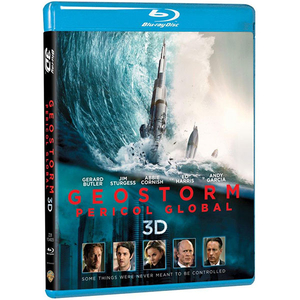 Geostorm: Pericol global Blu-ray 3D