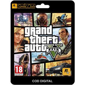 Grand Theft Auto V PC (licenta electronica Social Club)