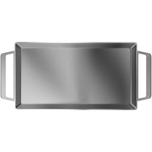 Gratar Teppanyaki ELECTROLUX E9KL1, 47.1x26.1cm, inox, argintiu
