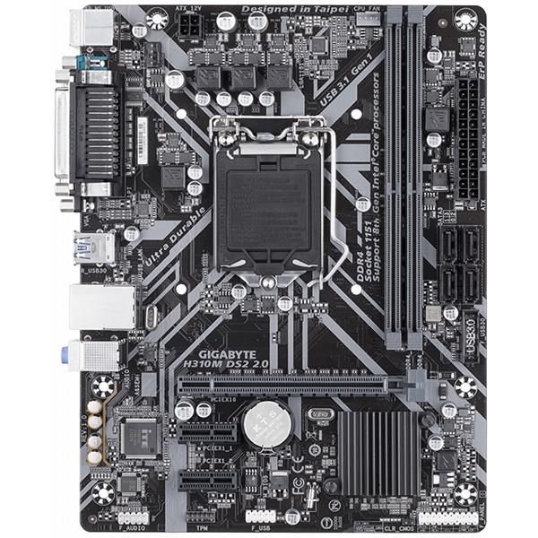 Placa de baza GIGABYTE H310M DS2 2.0, socket 1151, 2xDDR4, 4xSATA3
