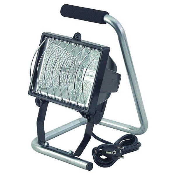 Lampa cu halogen BRENNENSTUHL H500, 400W, 8545 lumeni, negru-gri