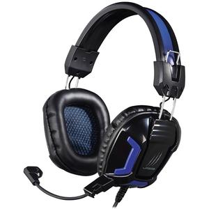 Casti Gaming HAMA Urage Soundz Essential, stereo, 3.5mm, negru-albastru