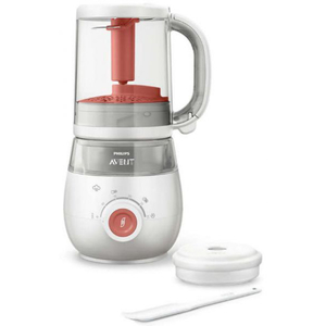 Aparat de gatit 4 in 1 PHILIPS AVENT SCF881/01, 720ml, 400W, alb - rosu