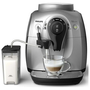 Espressor super-automat PHILIPS HD8652, 1l, 1400W, 15 bar, argintiu