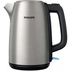Fierbator apa Philips Daily Collection HD9351/91, 1.7l, 2200W, argintiu-negru