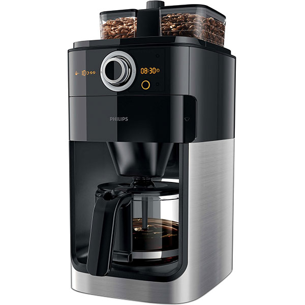 Cafetiera Philips Grind&Brew HD7762/00, 1.2l, 1000W