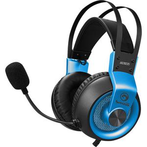 Casti Gaming MARVO HG9035, 7.1 virtual, USB, albastru